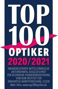 Top 100 Optiker Siegel